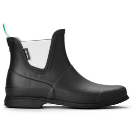 Tretorn Eva Låg Rubber Boots Women Dame black/shadow green